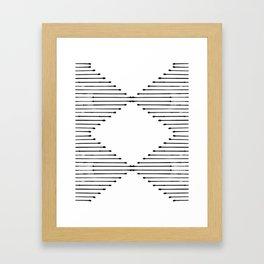 Geo Framed Art Print