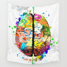 Human Brain Wall Tapestry