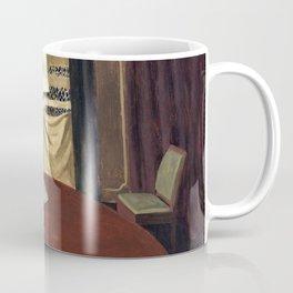 Felix Edouard Vallotton - The Poker Game - Digital Remastered Edition Coffee Mug