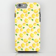 Lemon Pattern iPhone 6 Tough Case