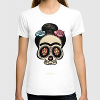 frida T-shirts featuring Frida by mangulica illustrations