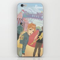 paramore iPhone & iPod Skins featuring Paramore - Welcome to Real World by Zinenkoij