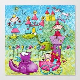 Fairy Princess Kingdom Canvas Print