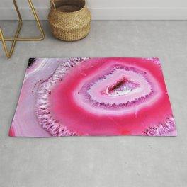 Pink Geode Rug
