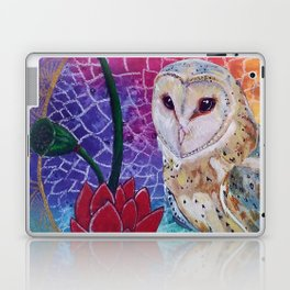 Lakshmi's Vahana ( Bird Whisperer Project Owl ) Laptop & iPad Skin
