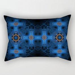 Fractal Art - Arctic Cross Rectangular Pillow