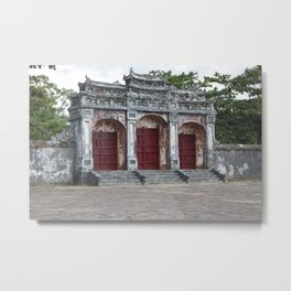 Gates to Royal Tomb Metal Print