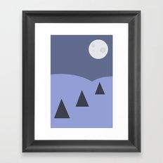 Les Sapins Framed Art Print