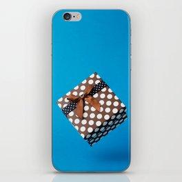 Gift box iPhone Skin