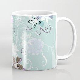 Summer blossom, blue and purple Coffee Mug