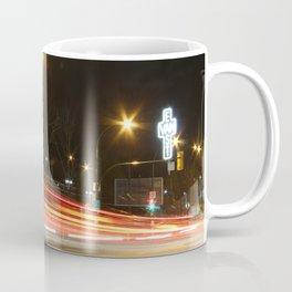 Great Northern Way East Van cross traffic blur Coffee Mug