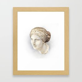 Aphrodite of Cnidus Framed Art Print