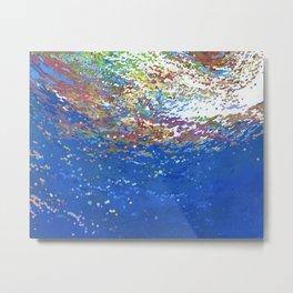 Release into the Ocean Metal Print