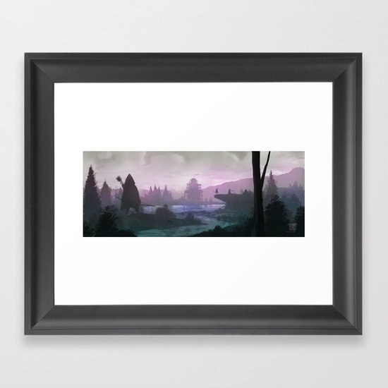 Archers Framed Art Print
