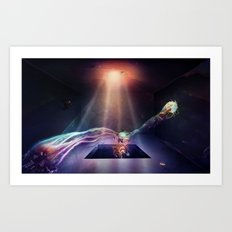Room of Abstract Imagination Art Print