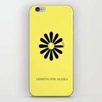 looking for alaska iPhone & iPod Skins featuring Looking for Alaska by green.lime
