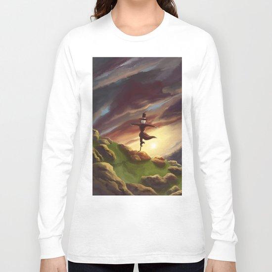 Studio Ghibli - Howl's Moving Castle Long Sleeve T-shirt
