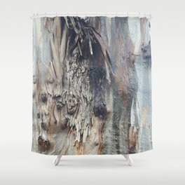 Colors of a Eucalyptus Shower Curtain