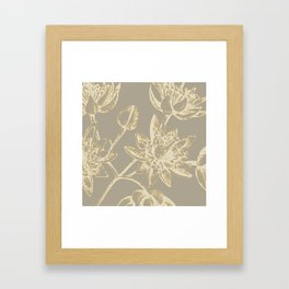 Botanic 2 Framed Art Print