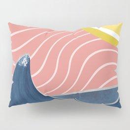 Sun, beach and sea Pillow Sham