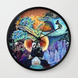 Jungle Spirit Wall Clock