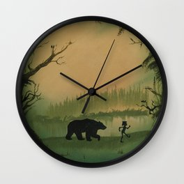 The Jungle Book by Rudyard Kipling Wall Clock