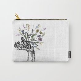 Flower-power Carry-All Pouch