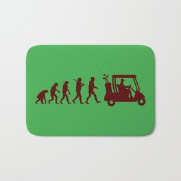Evolution - golf Bath Mat