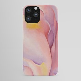 Poster-Georgia O'Keeffe-From Pink shell. iPhone Case