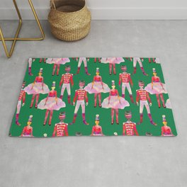 Nutcracker Ballet - Green  Rug
