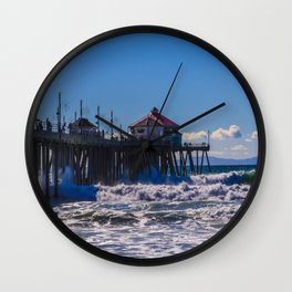 Weekend Waves - Surf City USA Wall Clock