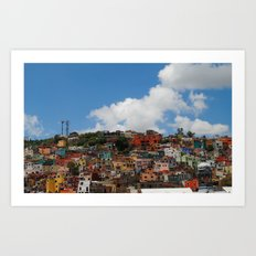 Colorful City Art Print