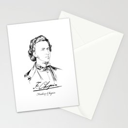 Frédéric Chopin-Composer-Classical Music-Piano Stationery Cards