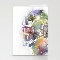 star lord Stationery Cards featuring Star-Lord by NKlein Design
