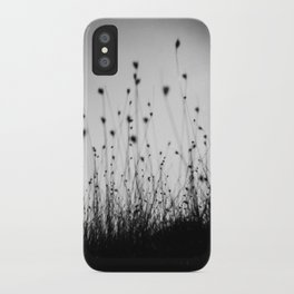 grass field in the sunlight iPhone Case