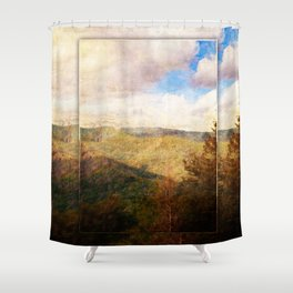 Great Smoky Mountain Dreams Shower Curtain