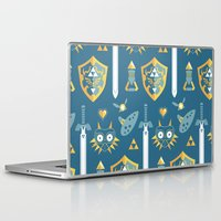 arsenal Laptop & iPad Skins featuring A Hero's Arsenal by Casa del Kables