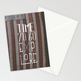 Time To Go Explore Stationery Cards