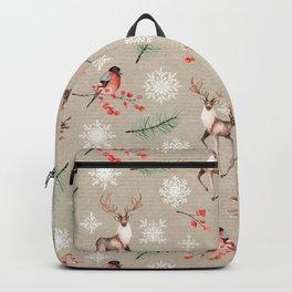 Xmas Pattern #socieyt6 #buyart Backpack