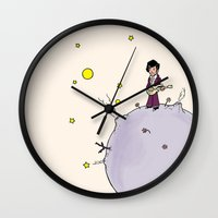the little prince Wall Clocks featuring Little Prince by Anchor Comics