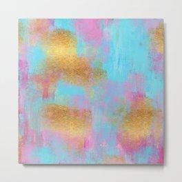 Invigorate Vibrant Abstract Metal Print