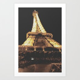 Paris, You Are My Love Art Print