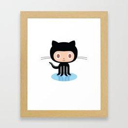 Github Framed Art Print