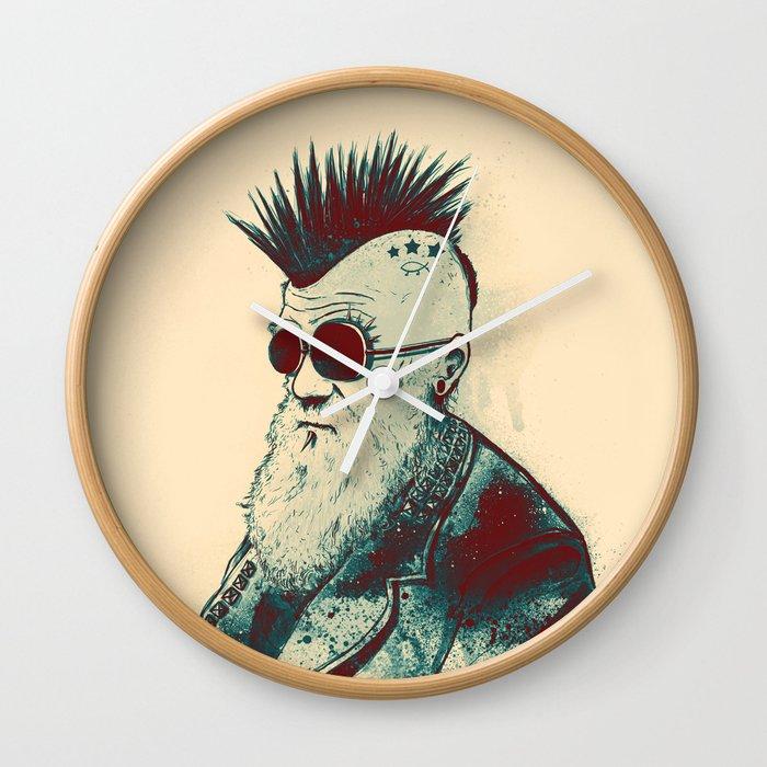 Evolution of Charles Wall Clock