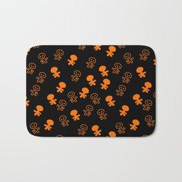 Aliens-Orange Bath Mat
