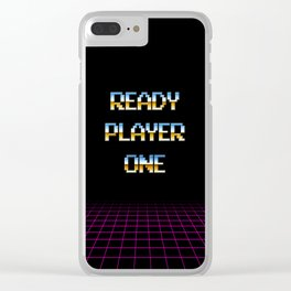 Ready Player One (80s) Clear iPhone Case
