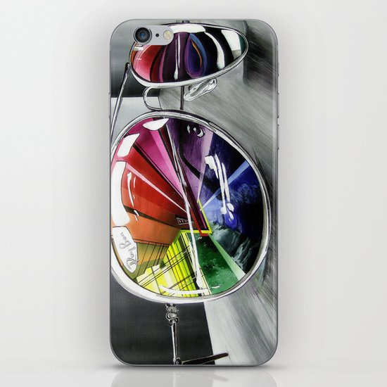 Psychedelic Sunglasses        iPhone & iPod Skin