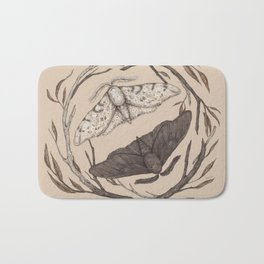Peppered Moths Bath Mat