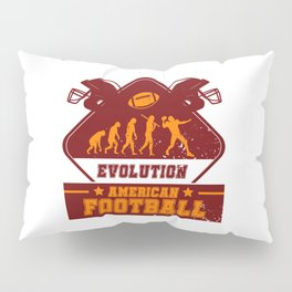 Evolution American Football Pillow Sham