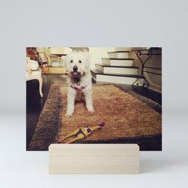 Goldendoodle Dog Mini Art Print